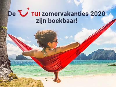 TUI Vroegboekvoordelen Zomer 2020 | Real Travel Reisbureau Menen