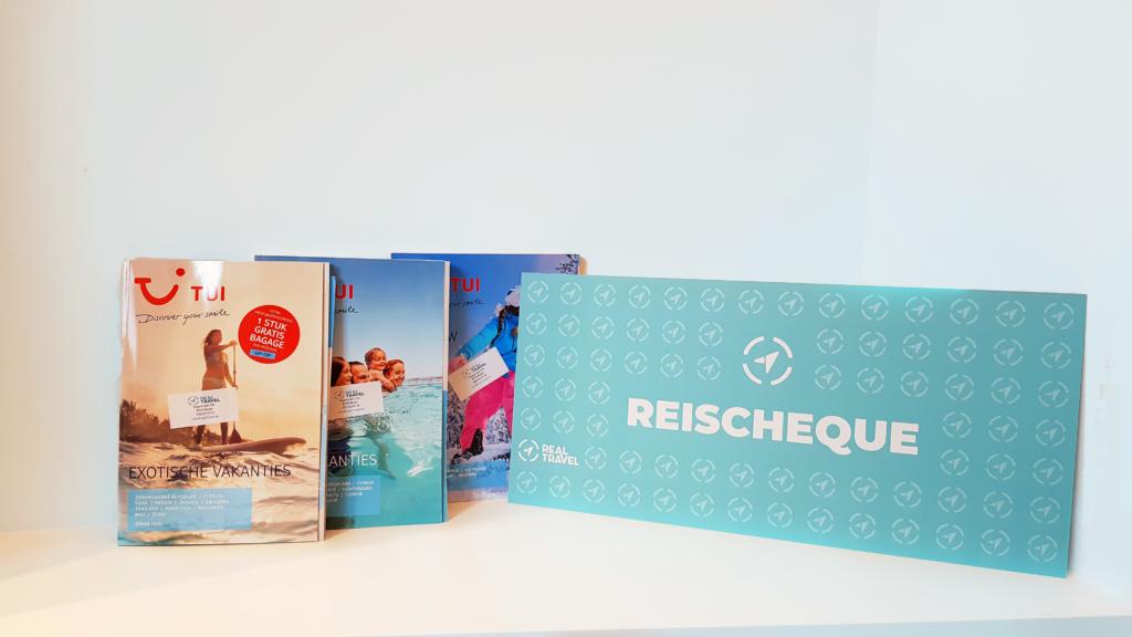 Cadeaubon - Reischeque Grootformaat | Real Travel Reisbureau Menen